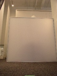 Unique solutions  Canada BZ systems stretch ceilings partition wall  transparent